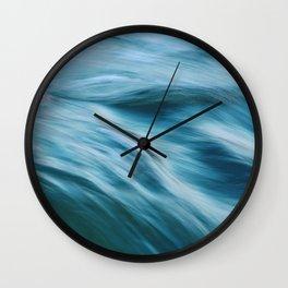 Ocean beneath you Wall Clock