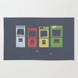Arcade Machines Rug