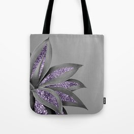 Agave Finesse Glitter Glam #4 #tropical #decor #art #society6 Tote Bag