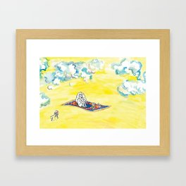Take Me Away, with Takeout! Framed Art Print