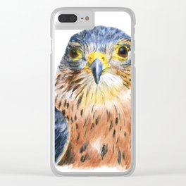 Scout the Merlin by Teresa Thompson Clear iPhone Case