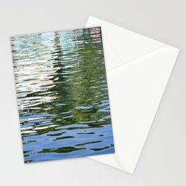 Colorful Reflections Abstract Stationery Cards