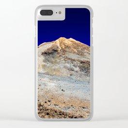 Vulcano on Tenerife Clear iPhone Case