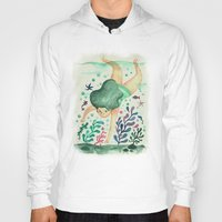 diver Hoodies featuring Diver by Jenny Jordahl