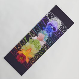 Chakra Flowers Yoga Mat