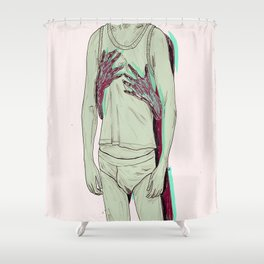 Underwear. Shower Curtain