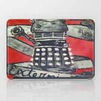 dalek iPad Cases featuring Dalek by AntiPosi