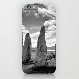 Stone Circle Callanish Stones iPhone Case