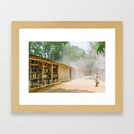 POTTERY DREAMLAND Framed Art Print