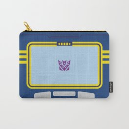 Soundwave Transformers Minimalist Carry-All Pouch