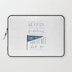 Redeeming Love Laptop Sleeve