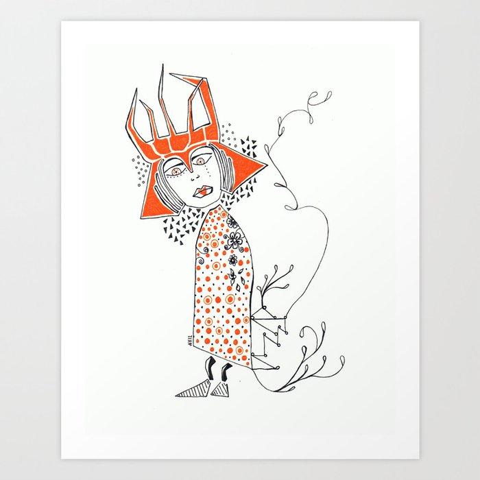 o 012 Art Print