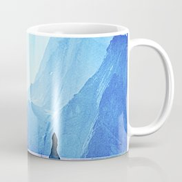 Snowy and Icy Landscape  Coffee Mug