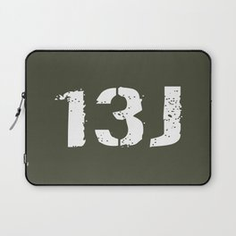 13J Fire Control Specialist Laptop Sleeve
