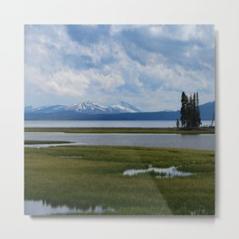 Pelican Creek - Yellowstone Lake Metal Print