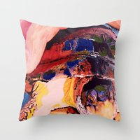 turtle Throw Pillows featuring Turtle by Art By Carob