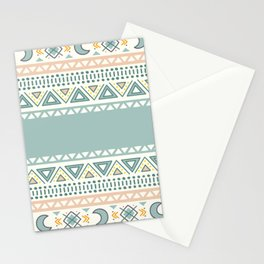 Colorful Geometric Boho Style 1 Stationery Cards
