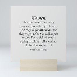 Women Mini Art Print