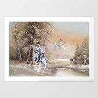 thegnarledbranch Art Prints featuring Being Followed by TheGnarledBranch