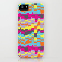 Optic Waves iPhone Case