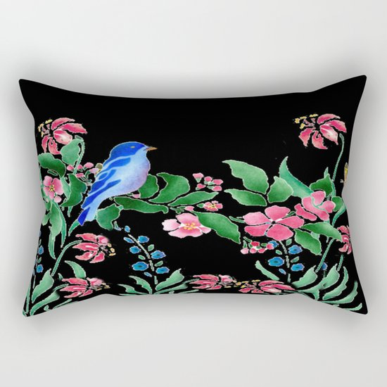 A Little Bit Of Spring Rectangular Pillow