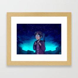 Eren nigth  Framed Art Print