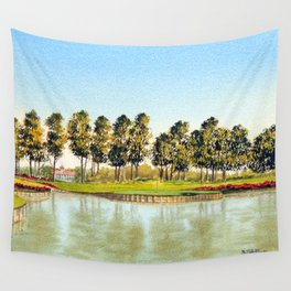 Sawgrass TPC Golf Course 17th Hole Wall Tapestry