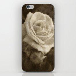 Pink Roses in Anzures 2 Antiqued iPhone Skin