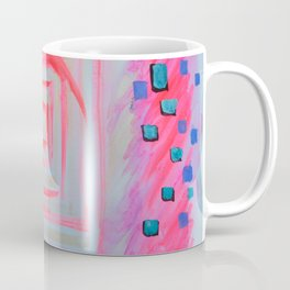 Blue Pink Coffee Mug