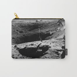 Apollo 16 - Moon Astronaut Crater Carry-All Pouch