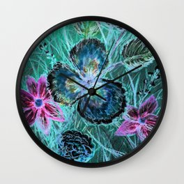 Crayon Love: Posie Pansy has the Inverted Blues-but LOVES Crayon Art! Wall Clock