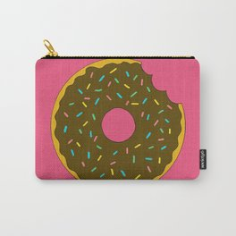 Chocolate Donut Carry-All Pouch