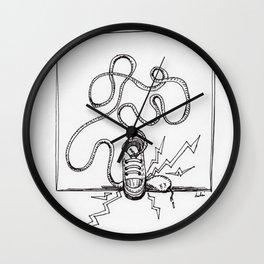 Sneaker Snake Wall Clock