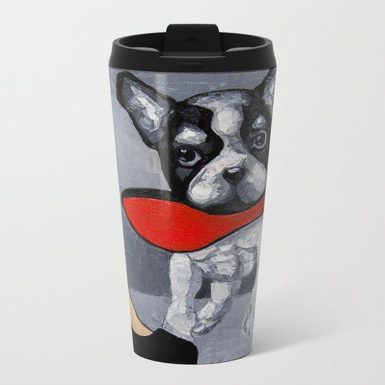SAVE THE SHOES! Metal Travel Mug