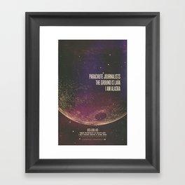 Parachute Journalists - Moonlike Framed Art Print