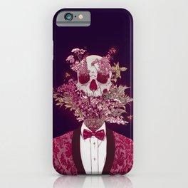 Skull Blossom iPhone Case