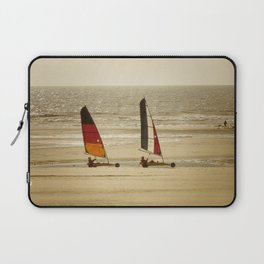 char à voile Nord Laptop Sleeve