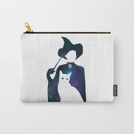 Minerva and Cat Carry-All Pouch