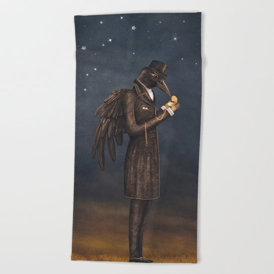 Even miracles take a little time. Beach Towel
