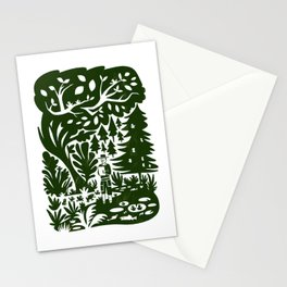 Erik of the Woods Stationery Cards