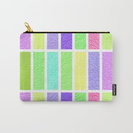 PASTEL RECTANGLES SHAPES  Carry-All Pouch