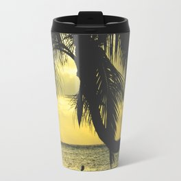 Sunset on the Island Travel Mug