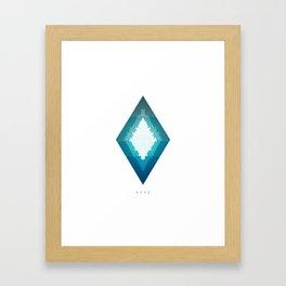 Hope 02 | Geometric Series by HyperVoid Framed Art Print