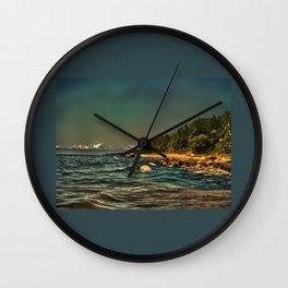 Baltic Sea Vidzeme coast Wall Clock
