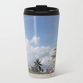South Beach Miami Lifeguard Station Travel Mug