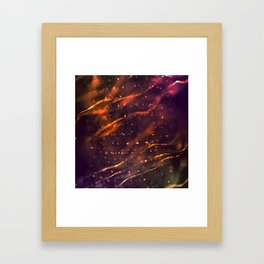 Holiday abstract Framed Art Print