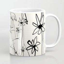 Amongst Flowers  Coffee Mug