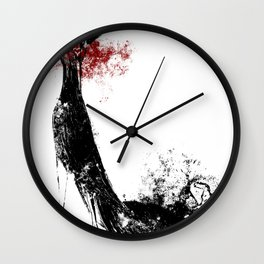 Red Dress Wall Clock