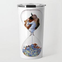Hourglass of Love (Hayez) Travel Mug