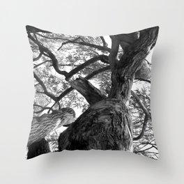 beyond the knot Throw Pillow